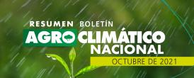 Resumen Agroclimático Octubre